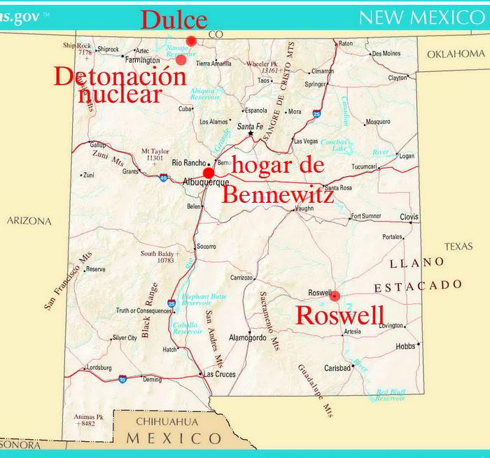 La base subterránea de Dulce, Nuevo México. (1/6)