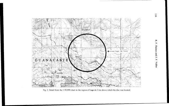 Ubicación en mapa, según Valle.